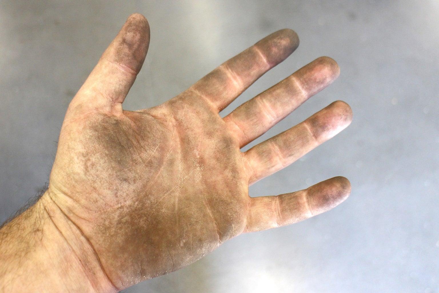 De-grease Your Hands