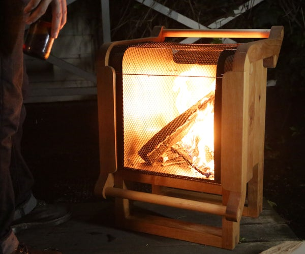 Wooden Fire Pit