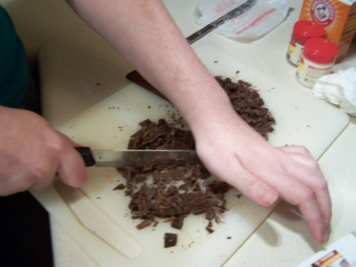 """""""Chipping"""" the Chocolate"""