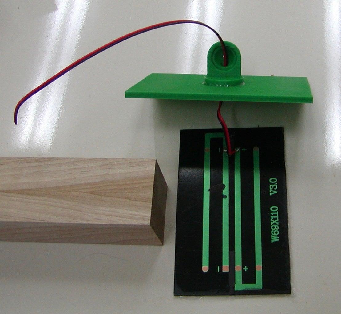 Assemble the Solar Panel Mounting Bracket