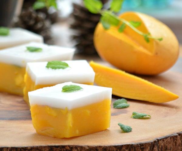 Vegan Mango & Coconut 'Jelly'