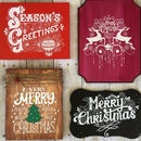 DIY Screen Printing Custom Wooden Christmas Signs