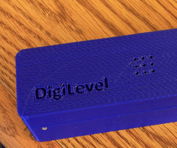 DigiLevel - a Digital Level With Two Axes