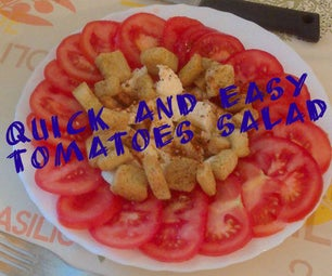Quick and Easy Tomatoes Salad