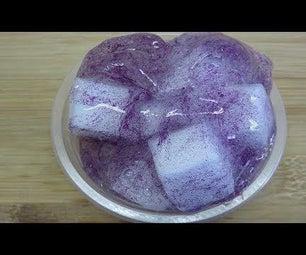 DIY Jelly Cube Slime