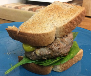 Quick and Easy Meatloaf Burgers