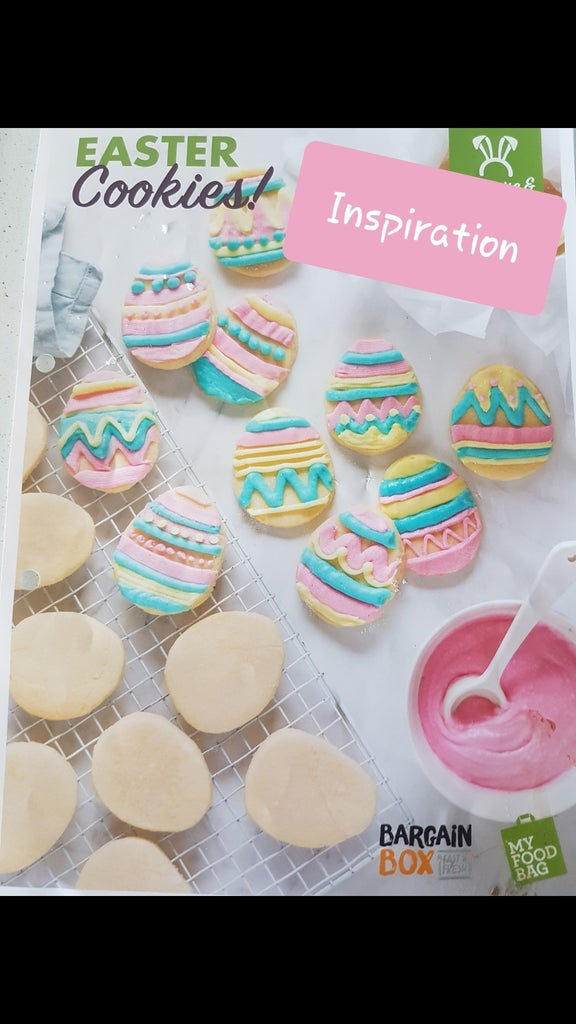 Colourful Easter Cookies