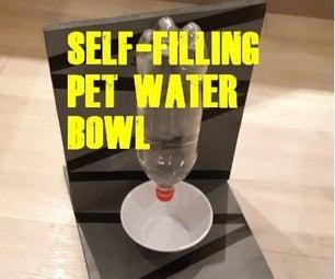 SIMPLE SELF FILLING PET WATER BOWL!