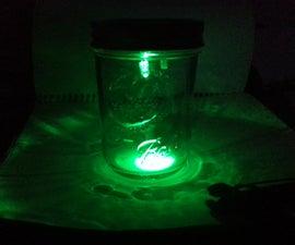 Quick and Simple LED Mason Jar