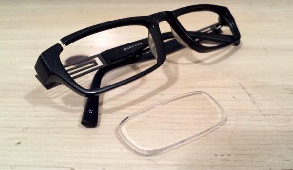 3d Scanning a Glasses Lens