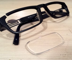 3D扫描眼镜镜头