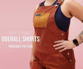 DIY  Women's Overall Shorts