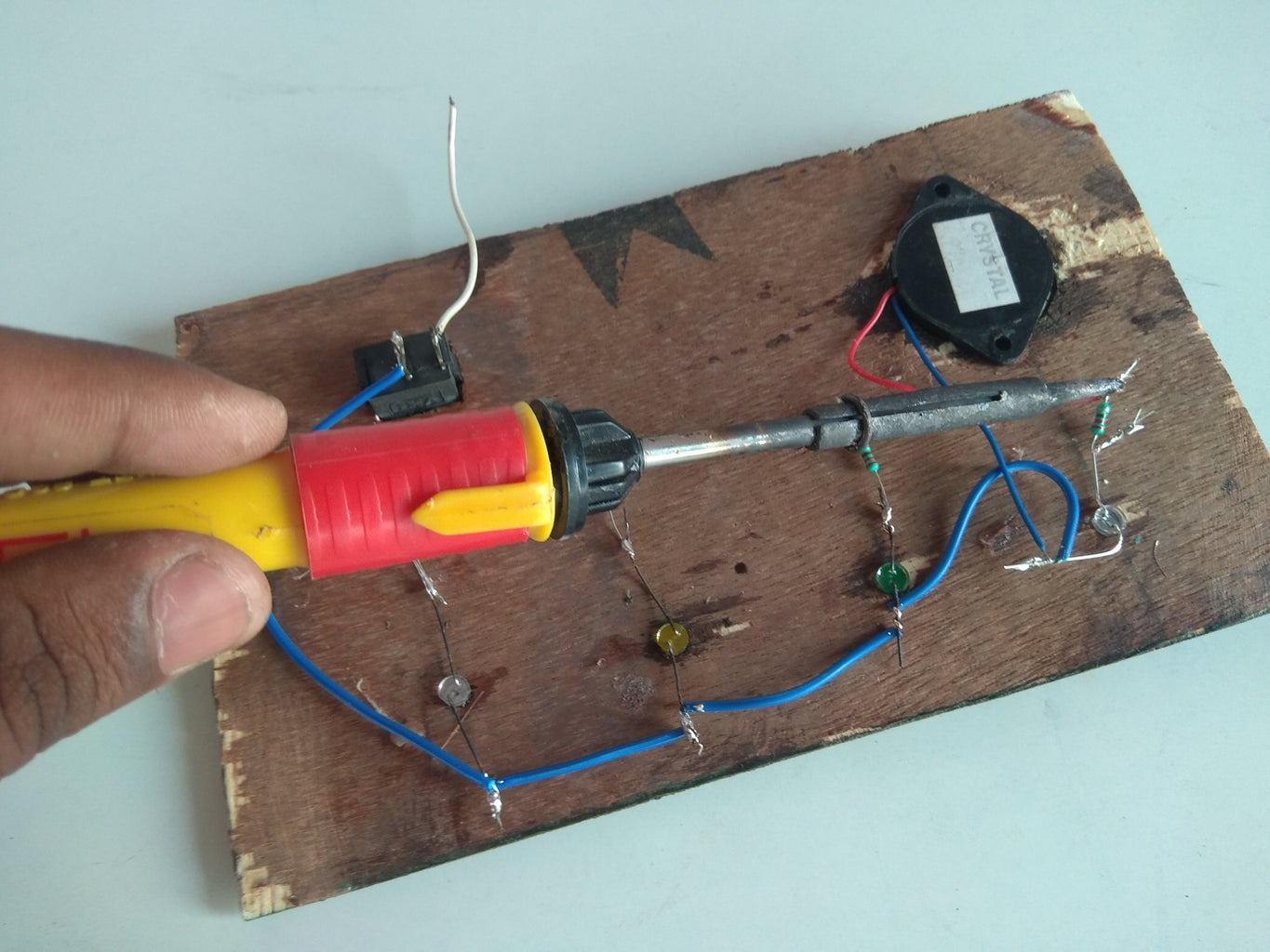 Connect the LED With Buzzer