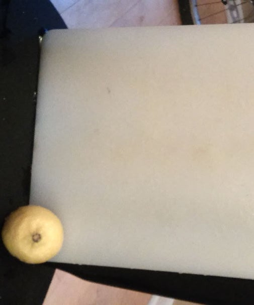 Cleaning Cutting Board