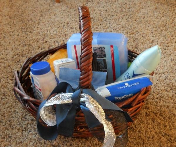 DIY Bride Guide: Bathroom Baskets