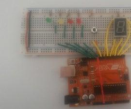 9 in a Row, an Arduino LED Game.