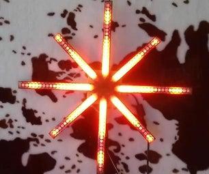 动画的LED明星