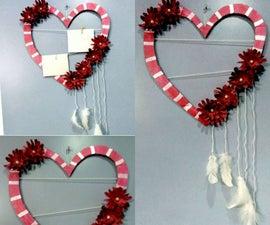 Heart Shaped Photo Frame and Wall Decor