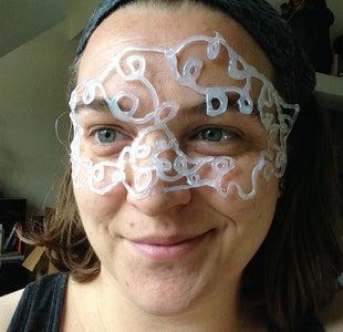 Alternate: Hot Glue Mask