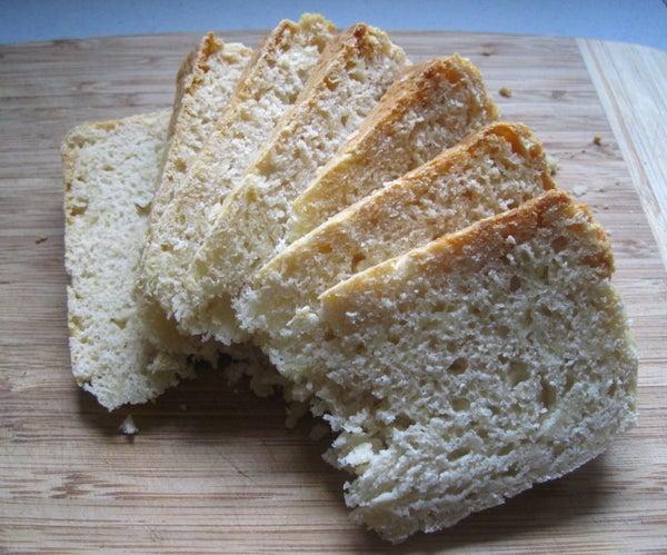 Slow Cooker Cheesy Beer Bread