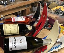 Ski Wine Bottle Holder