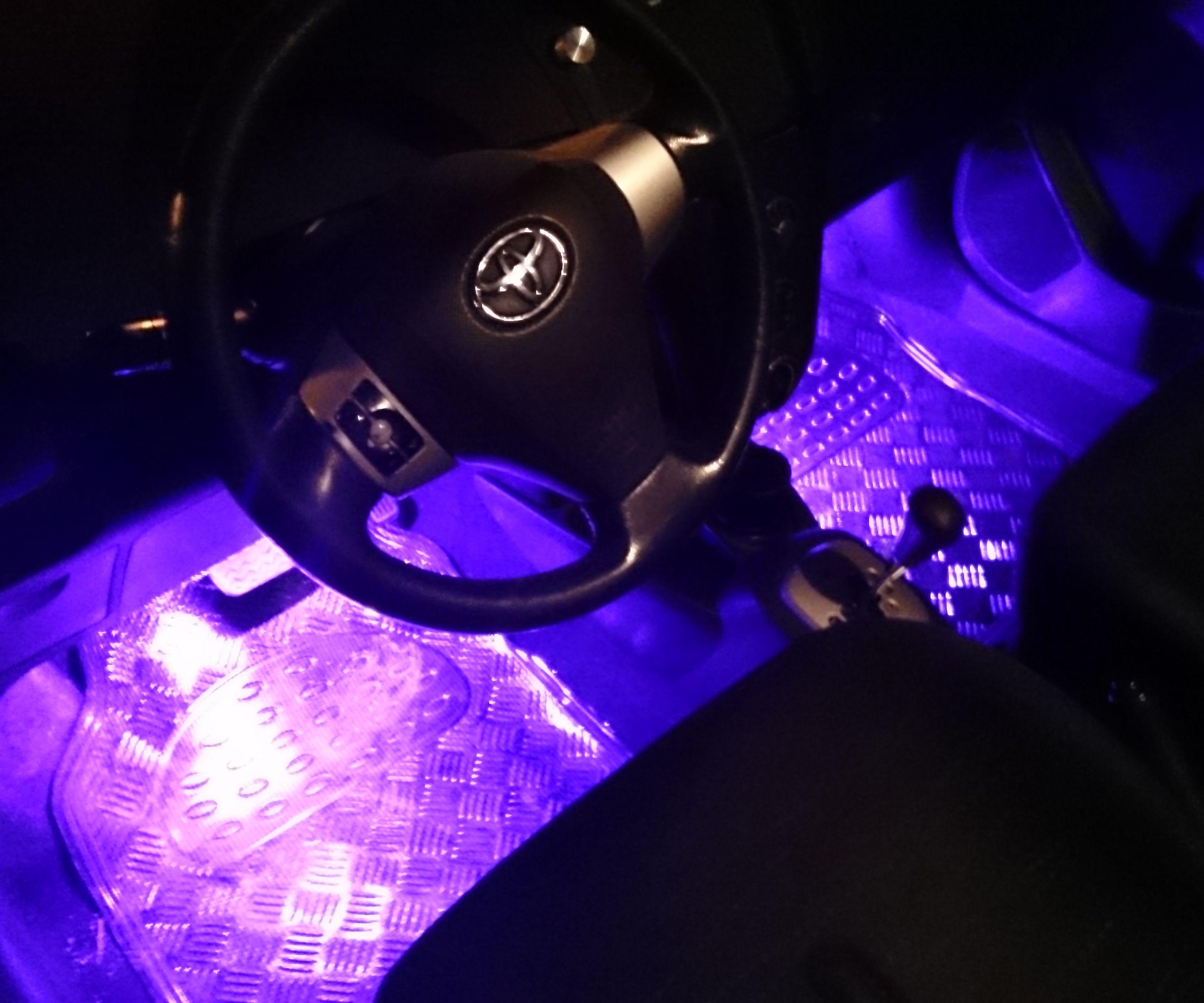 Arduino RGB Interior Car Lighting (Bluetooth - Android App)