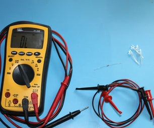 Testing LEDs With a Multimeter