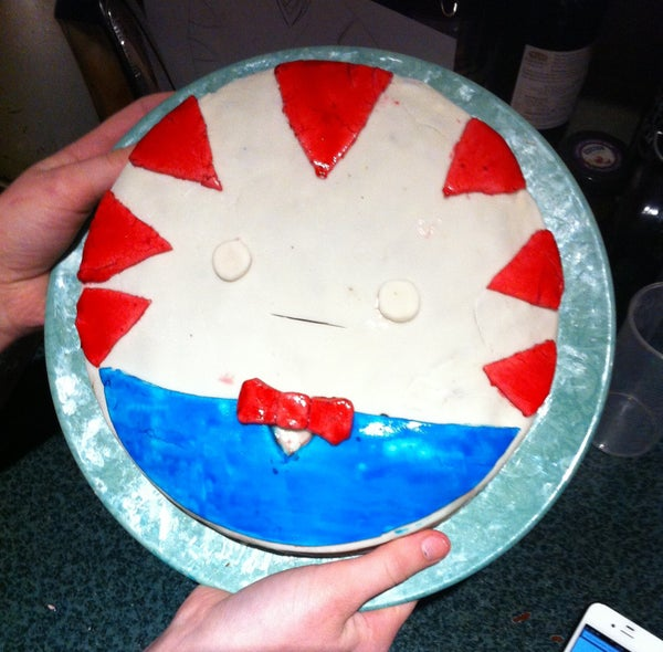 Peppermint Butler Adventure Time Cake