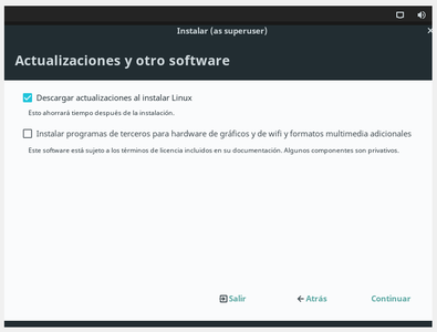 Instalacion LinuxLite
