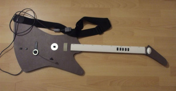 How to Make a PS2 Guitar Hero Controller Out of Scratch