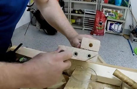 Drill for Bolts and Brass Inserts