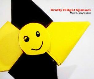 Crafty Fidget Spinner - Make the Way You LIke