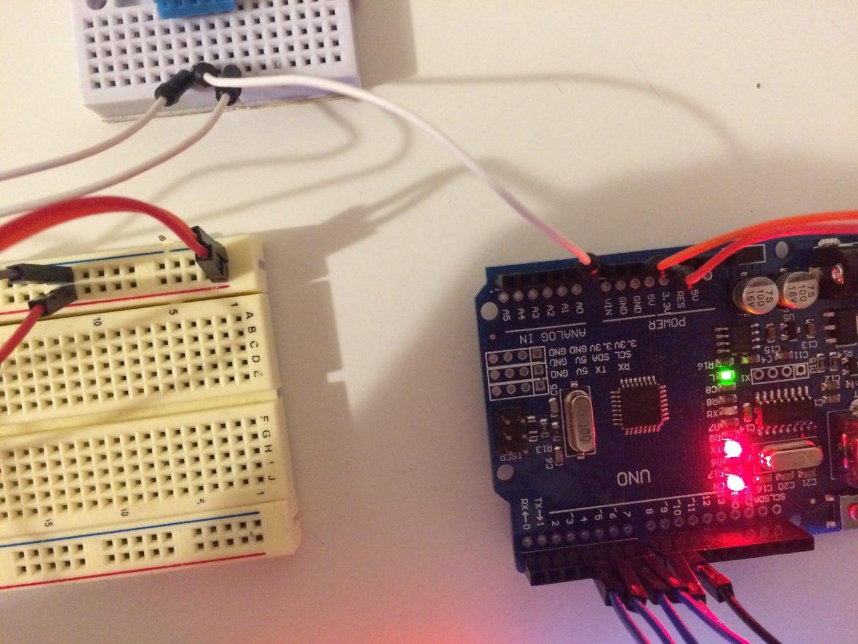 Setting Up the DHT Temperature Sensor