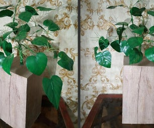 How to Make Redbud Cercis Canadensis Leaves From Plastic Bottle|DIY Leaves|Easy Art & Craft Tutorial