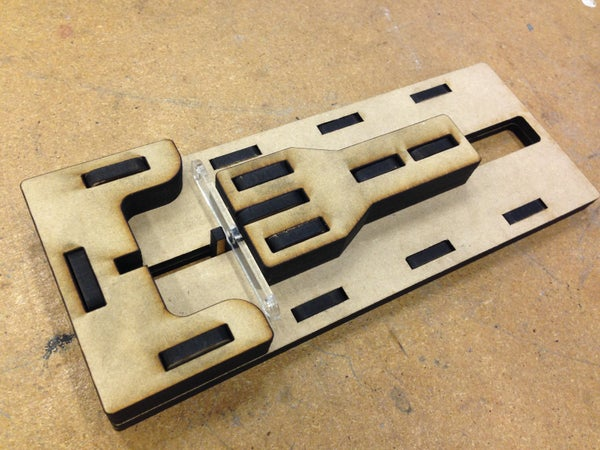 Gettin' Jiggy Widdit ->  Squeezing Plastic Pieces Into Brackets