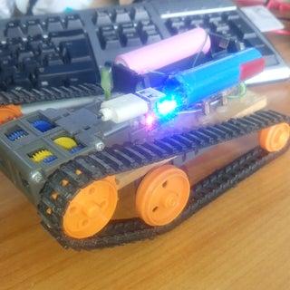 RC Tamiya Tracked Rover