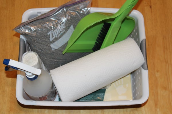 How to Use a Bodily Fluid Cleanup Kit