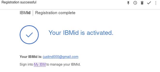 Make an IBM Watson Account