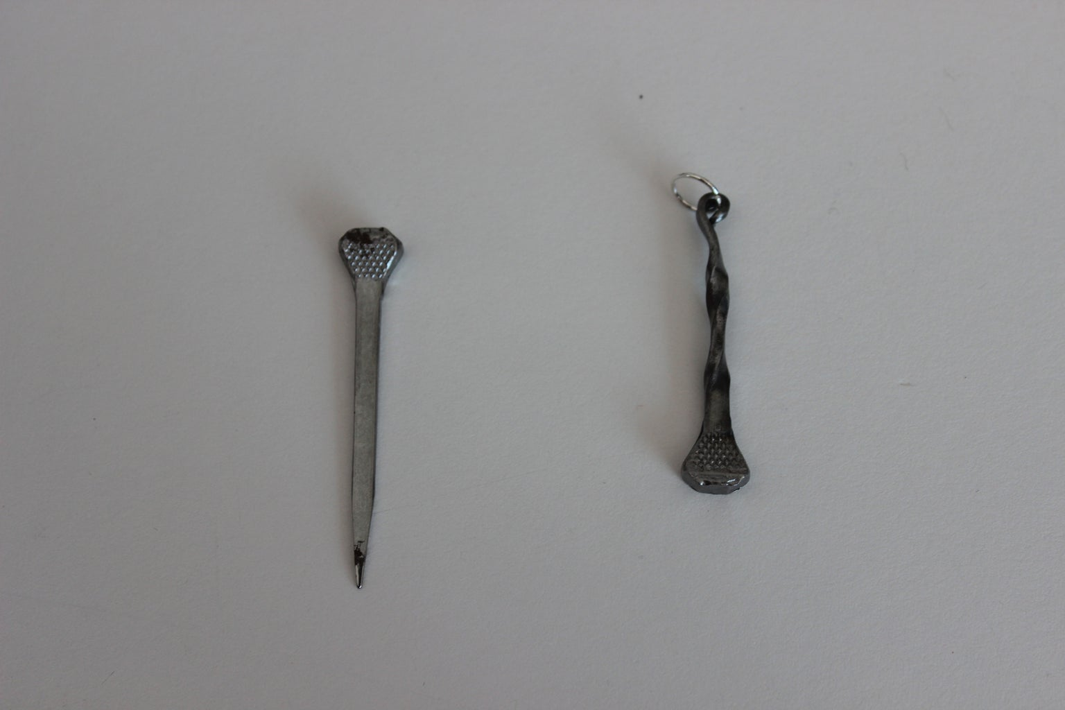 Horse Shoe Nail & Cement Nail Jewelry