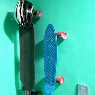 Rock Solid Skateboard Hanger From PVC Pipe
