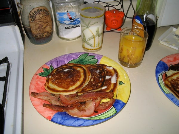 Easy Perfect Pancakes