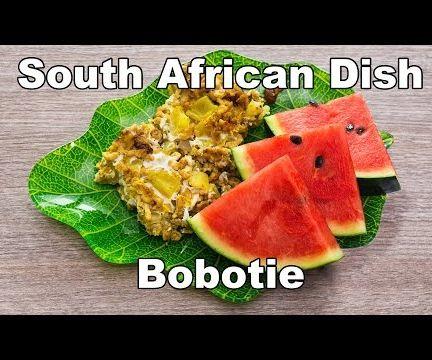 Tasty South African Dish: Bobotie