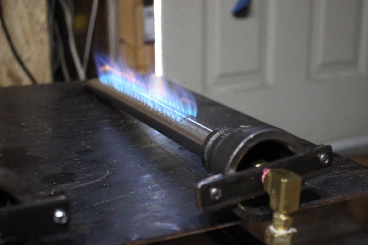 How to Make a BBQ Burner