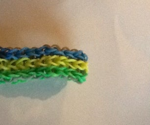 How to Make Single Triple Rainbow Loom Bracelet