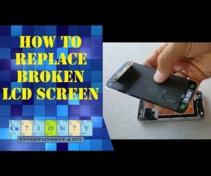 How to Replace Broken LCD Screen on Samsung Galaxy