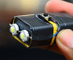 Super Bright 9v LED Flashlight