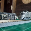 Smartphone Controlled Model Railroad With an ESP8266