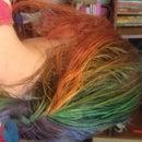 Rainbow Hair for Kids