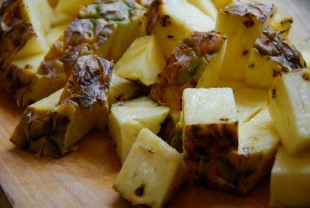 Preparing the Pineapples / Ingredients