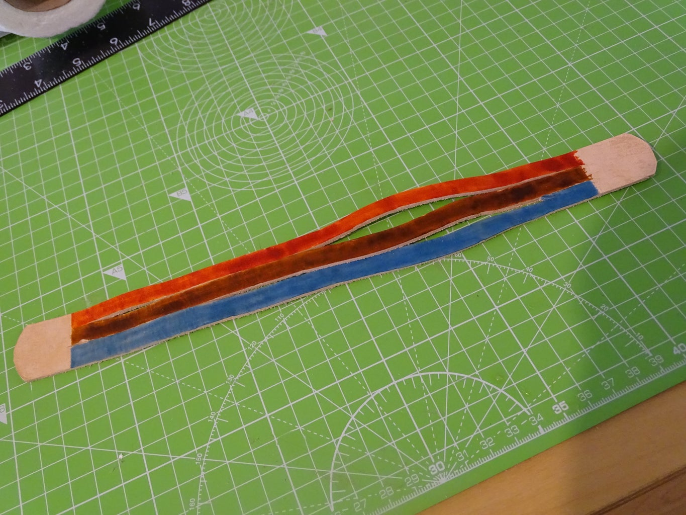 Braid the Leather (including the Magic Step)